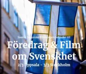 Föredrag och Film om Svenskhet