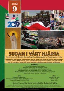 Sudan i vårt hjärta, 9 juni 1400-1800, Sensus Mariatorget