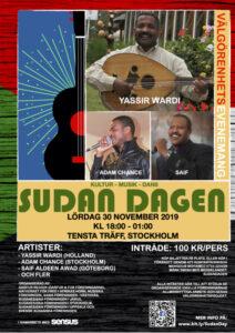 Sudan Dagen - Poster - Svenska
